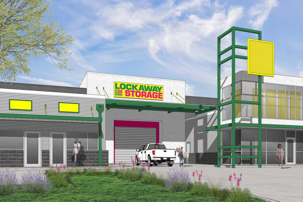 Leasing office in San Antonio, Texas at Lockaway Storage