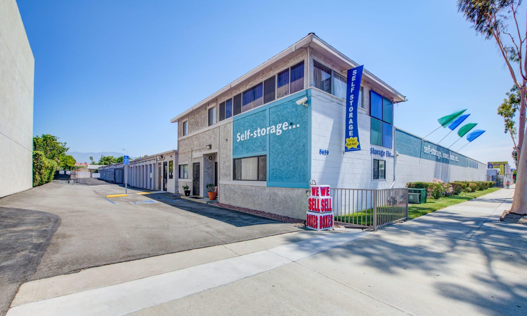 Self storage in Rosemead CA