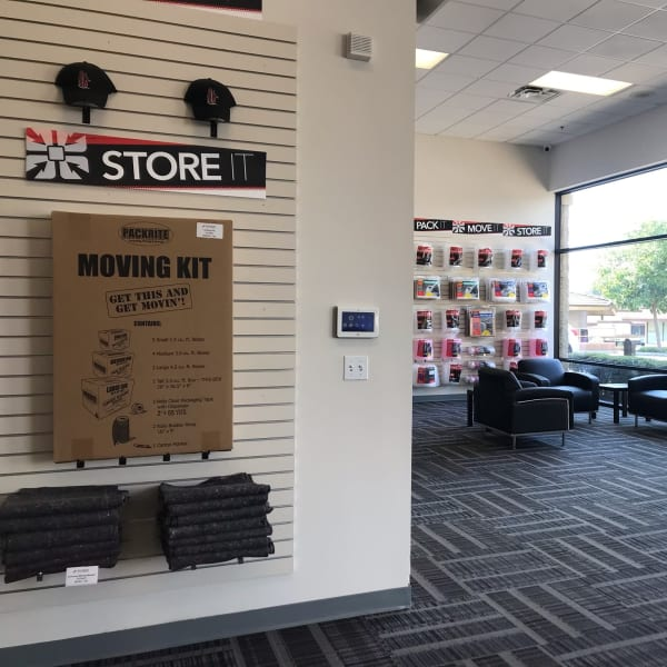 Packing supplies sold at StorQuest Self Storage in Thousand Oaks, California