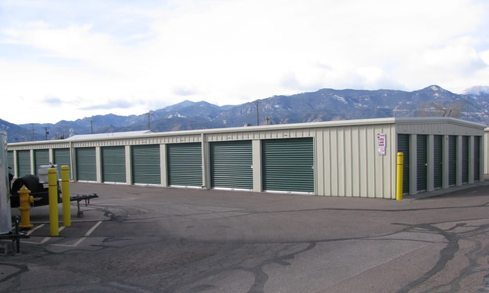A Better Self Storage North Nevada offers self storage units in Colorado Springs, CO