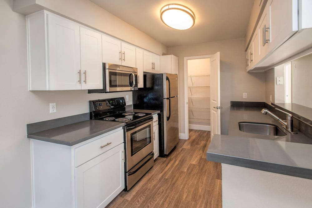 Our Apartments in Roseville, California offer a Kitchen