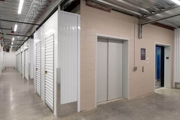 indoor storage available at StorQuest Self Storage in Redmond, Washington