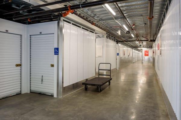 Exterior view of StorQuest Self Storage in Seattle, Washington