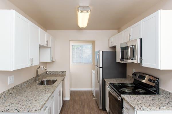 Modern kitchen at Heather Ridge in Orangevale, California