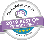 2019 best of senior living award for Arbour Square of Harleysville in Harleysville, Pennsylvania