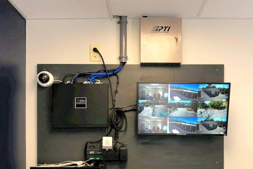 Surveillance system at Prime Storage in Marietta, Georgia