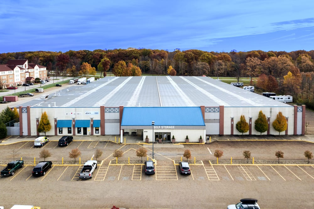 Aerial view of Prime Storage in Boardman, Ohio