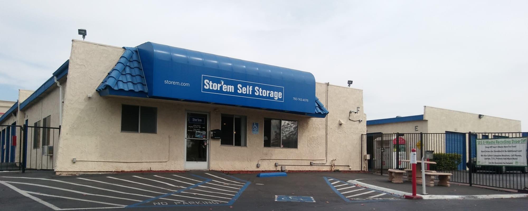 Stor'em Self Storage in San Marcos, California