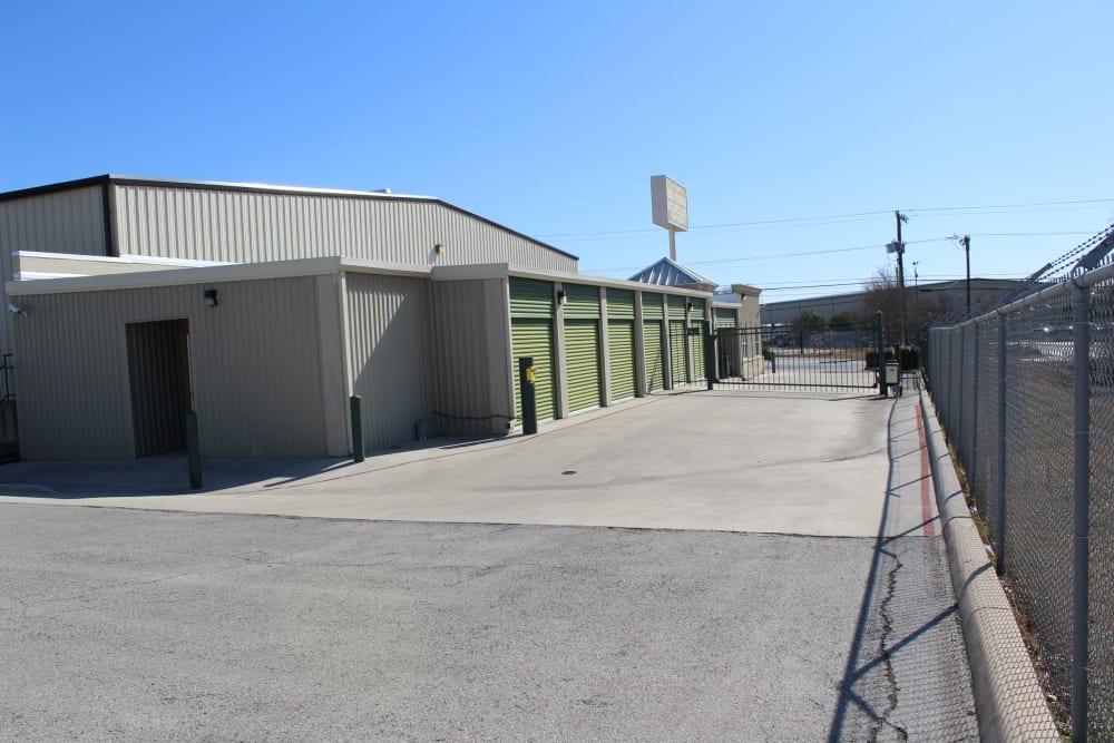 Drive way entrance at Maximum Mini Storage Rittiman
