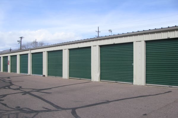 Self storage units for rent at A Better Self Storage North Nevada in Colorado Springs, CO