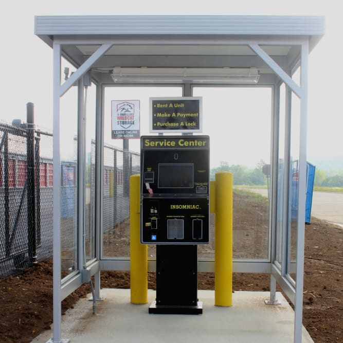 On-Site Self-Service Kiosk