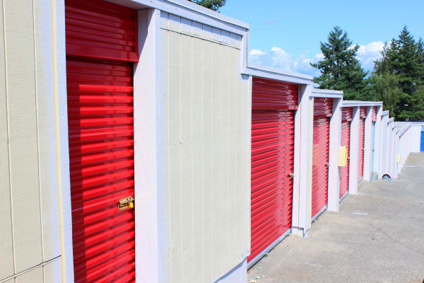 Self storage units available at Trojan Storage in Everett, Washington