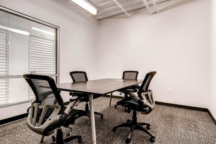 Conference room at Greenbox Self Storage in Denver, Colorado