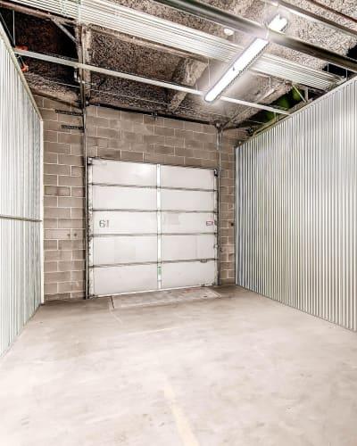 Large unit at Greenbox Self Storage in Denver, Colorado