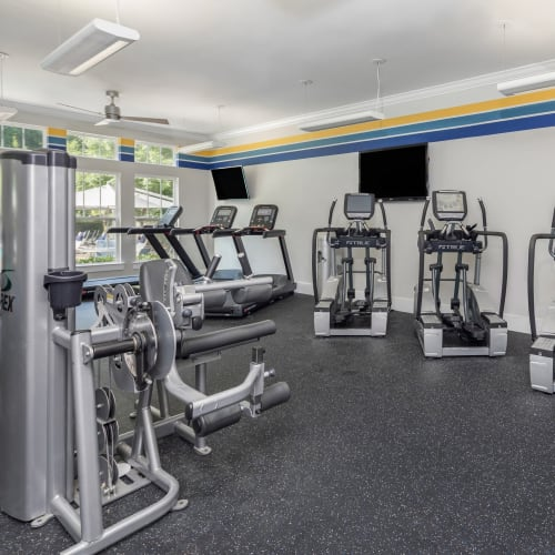 View virtual tour for the fitness center at The District in Charlotte, North Carolina