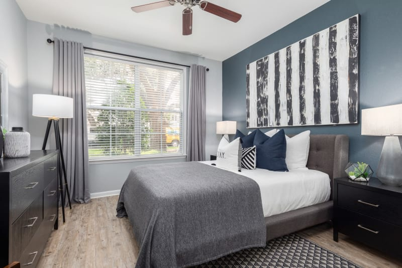 Bedroom at Luxe at 1820 in Tampa, Florida
