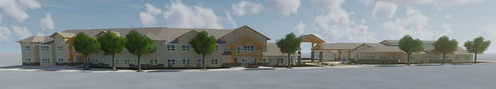 Pear Valley Senior Living rendering
