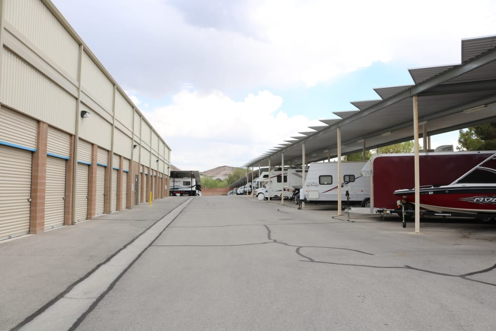 RV and Boat storage at Golden State Storage - Horizon Ridge in Henderson, Nevada
