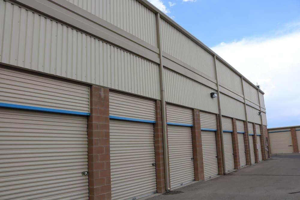Convenient drive-up storage at Golden State Storage - Horizon Ridge in Henderson, Nevada