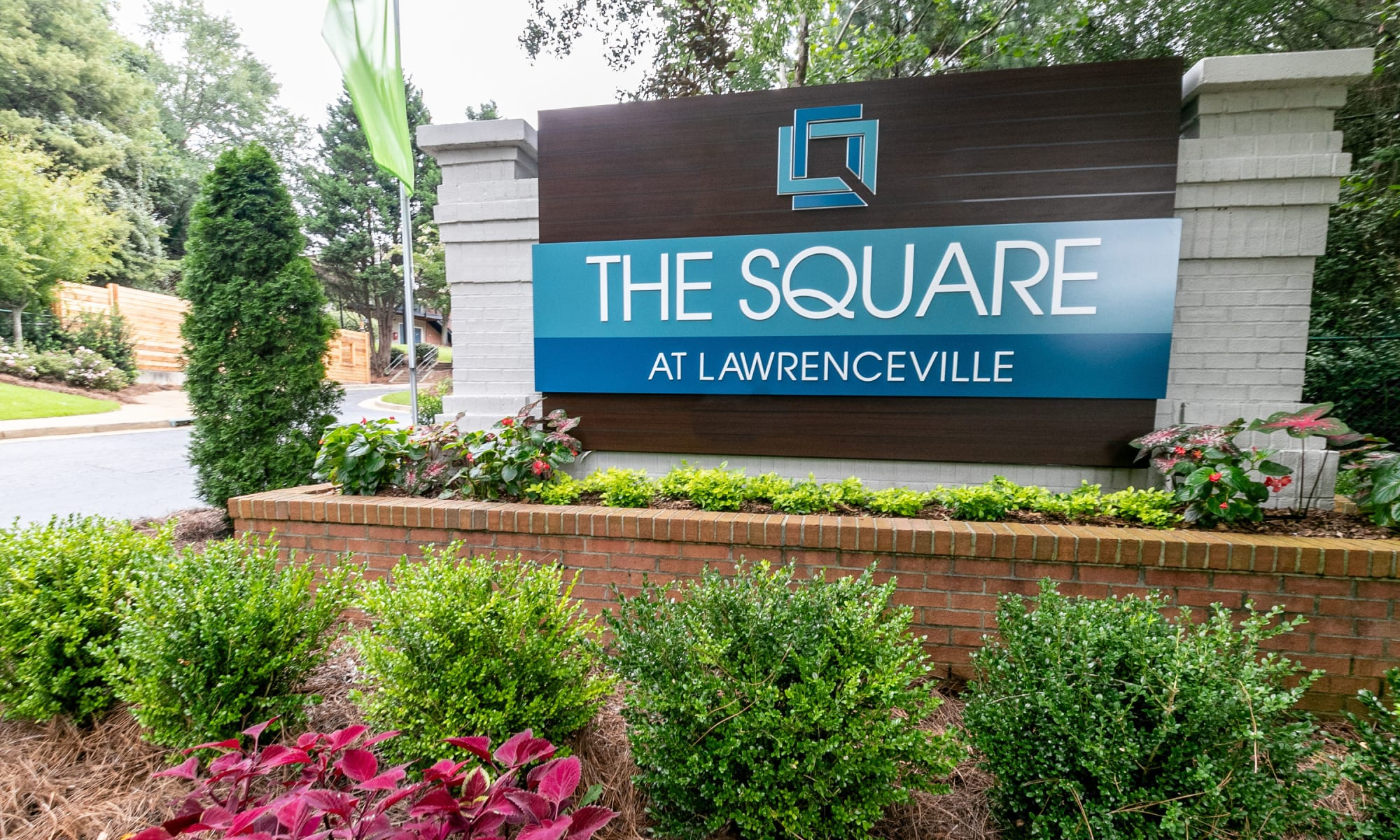 Apartment homes at The Square at Lawrenceville in Lawrenceville, Georgia