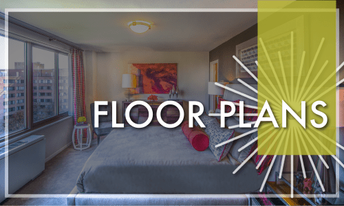 View Floor Plans at Crystal House in Arlington, Virginia