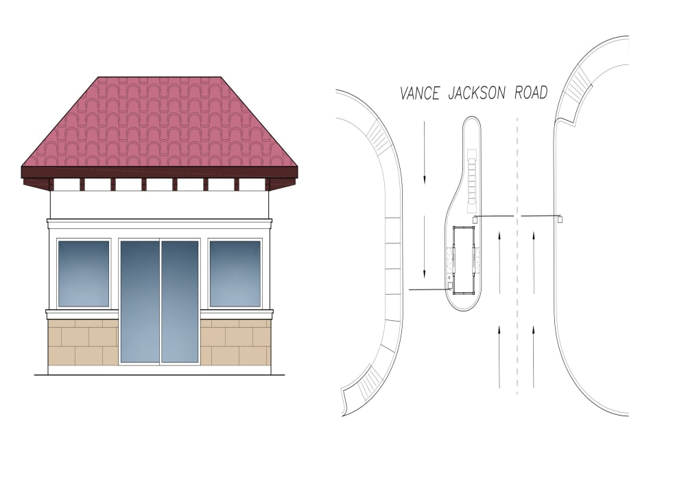 Gatehouse at Villas at the Rim in San Antonio, Texas