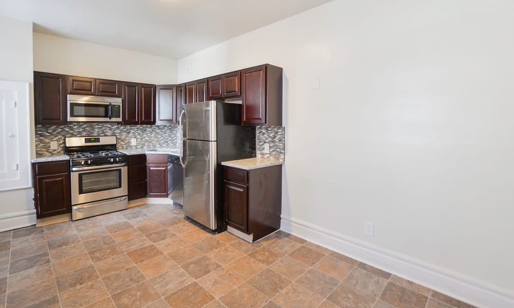 Spacious Kitchen at South Street Apartment Homes