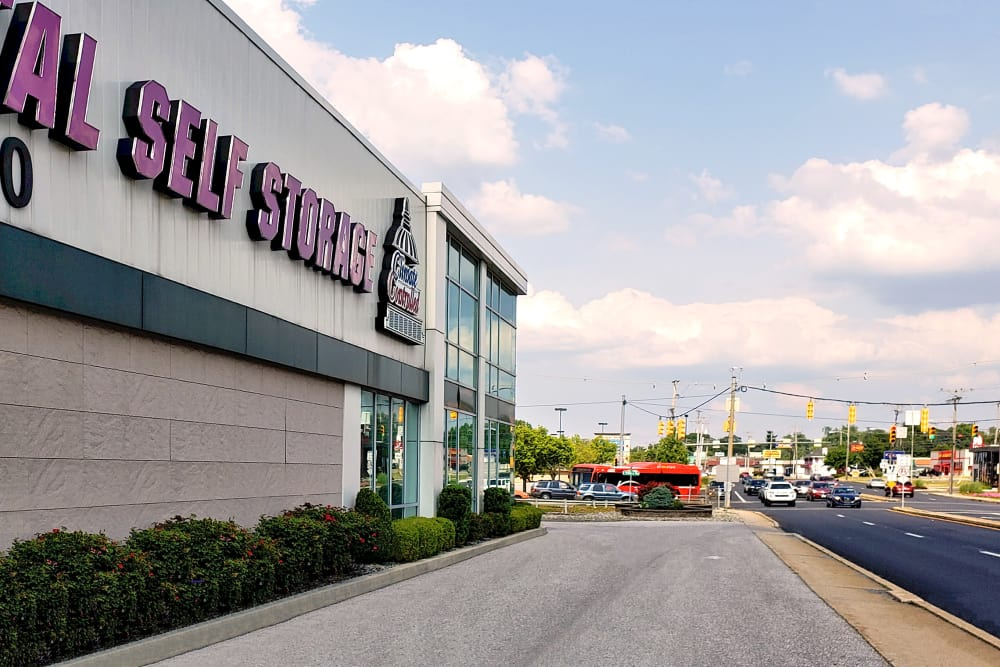Exterior of Capital Self Storage in York, PA