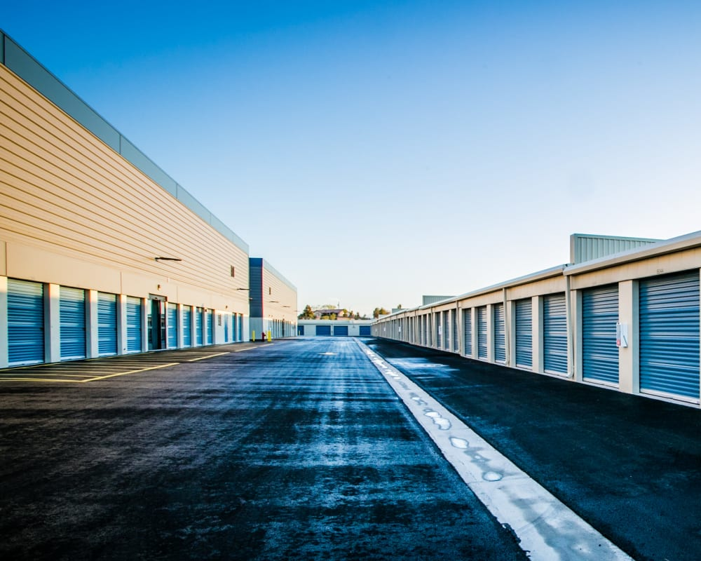 Outdoor units at Golden State Storage - Blue Diamond in Las Vegas, Nevada