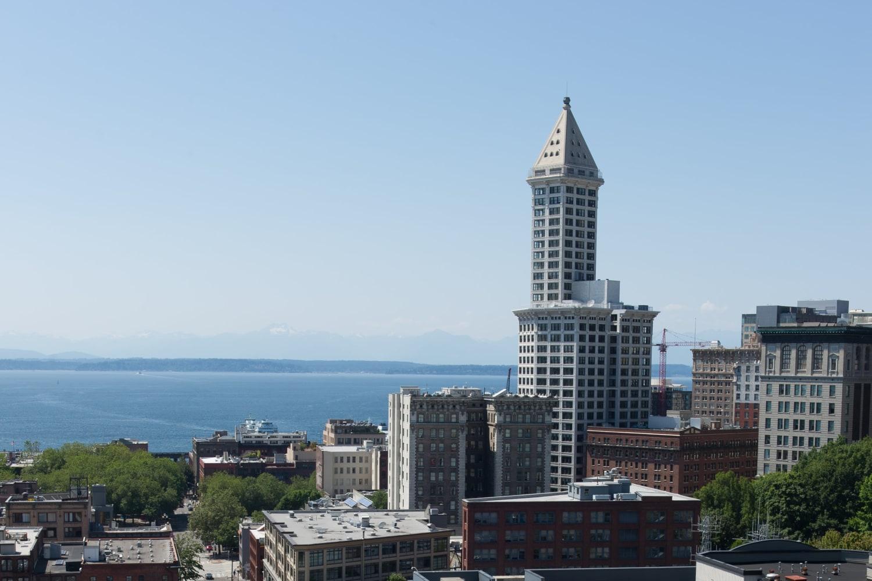 Great views at Metropolitan Park Apartments in Seattle, Washington