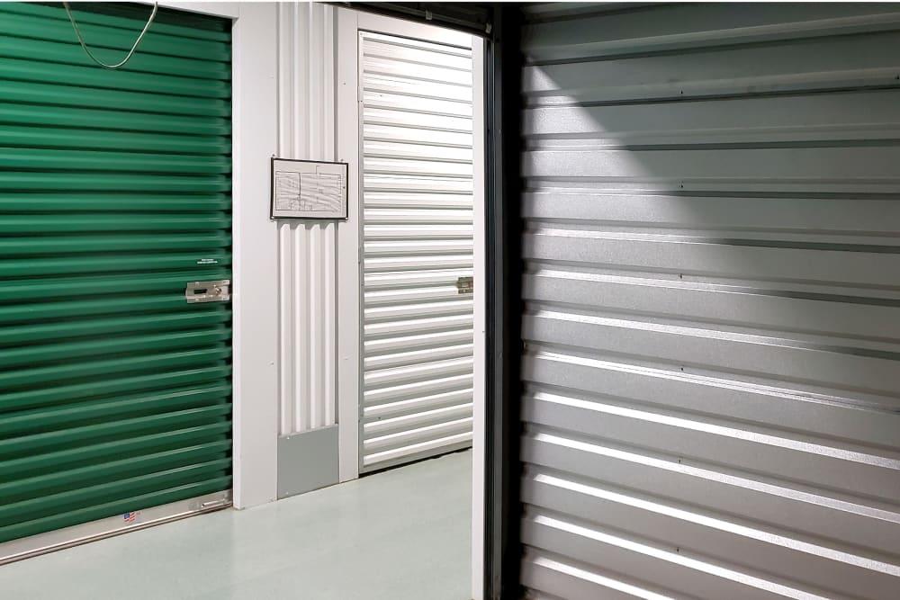 Indoor storage unit at Capital Self Storage in York, PA