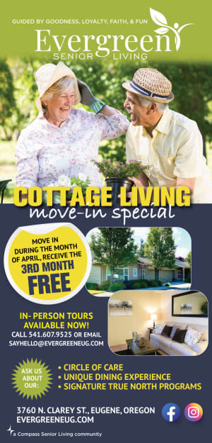 Flyer at Evergreen Memory Care
