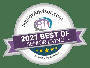 2021 best of senior living at Heritage Senior Living in Blue Bell, Pennsylvania