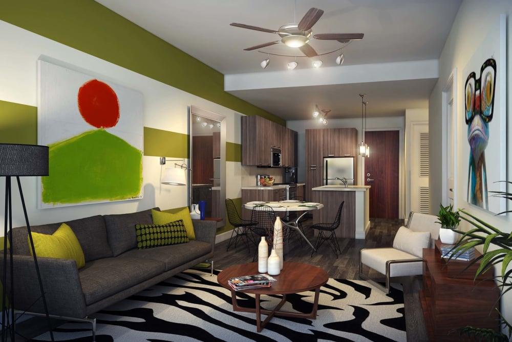 Living Room at Berkshire Coral Gables