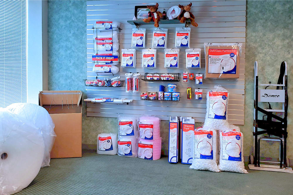 Packing supplies at Capital Self Storage in York, PA