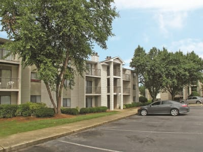 Our apartments in Greenville, SC offer a parking area