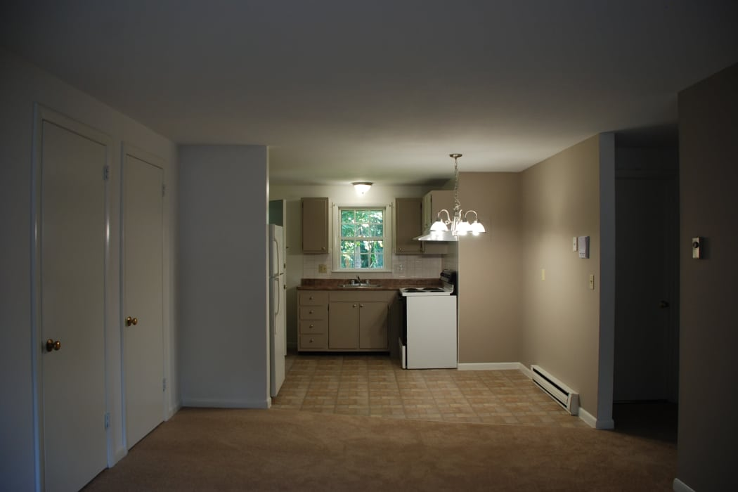 Kitchen room at Coachlight Village in Agawam