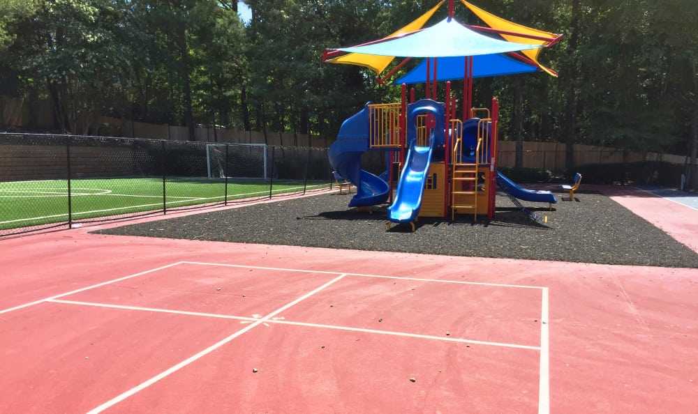 Plenty of outdoor play spaces for your children at Abbots Glen in Norcross