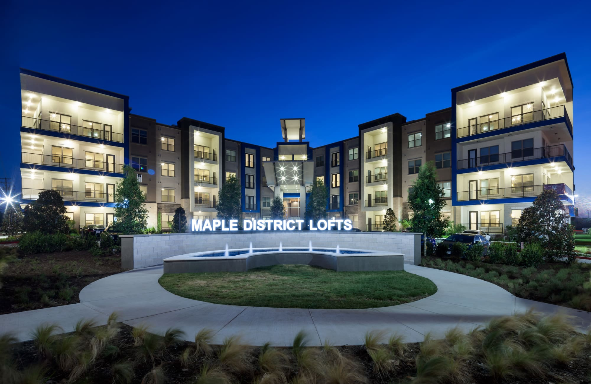 Apartments at Maple District Lofts in Dallas, Texas