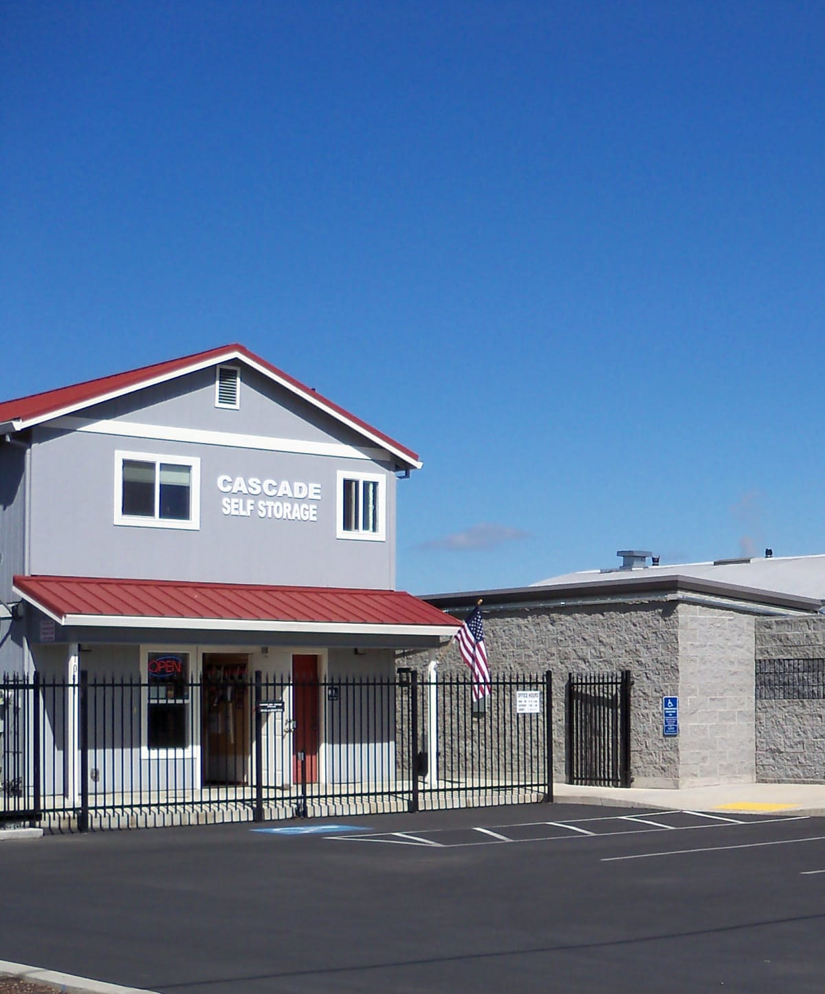 Cascade Self Storage in Medford, Oregon