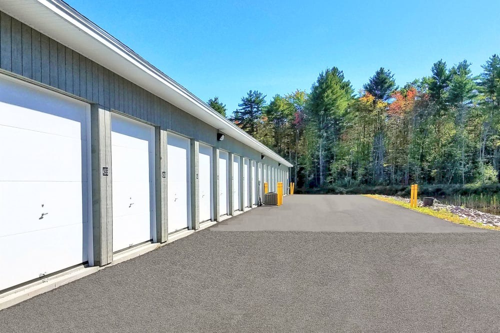 Outdoor Storage Units At Prime Storage In Berwick, Maine