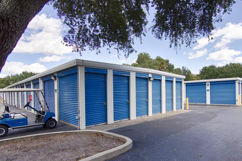 Outdoor units at Metro Self Storage in Sarasota, Florida
