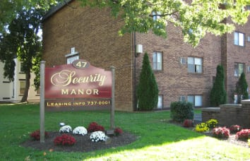 Security Manor Apartments is a nearby community of Talbot Woods Apartments