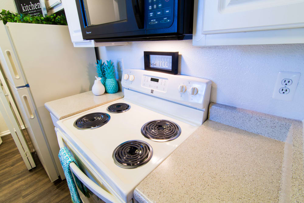 Kitchen utilities at Parkside Apartments