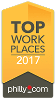 Top workplaces 2017 award for Arbour Square of Harleysville in Harleysville, Pennsylvania