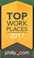 Top workplaces 2017 award for Arbour Square of Harleysville in Harleysville, Pennsylvania
