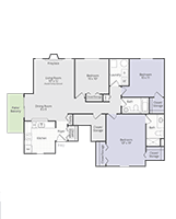 Printable floor plan Medallion II at Briar Cove Terrace Apartments