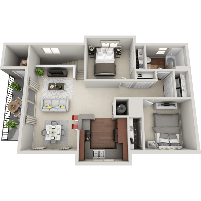 Luxury and Open 2-Bedroom Apartment in Meridian