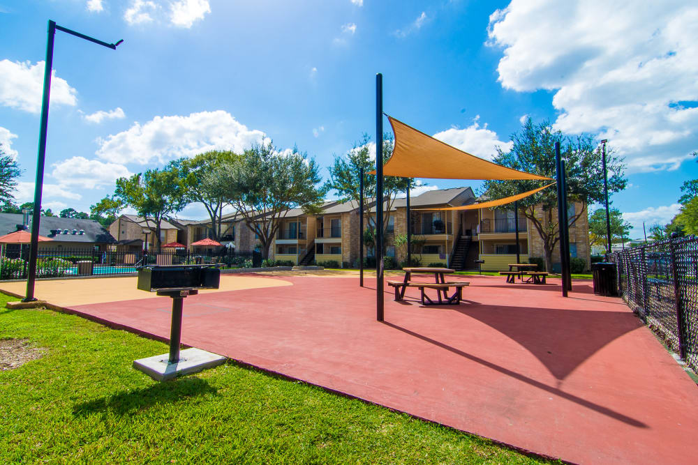 Outdoor at Parkside Apartments