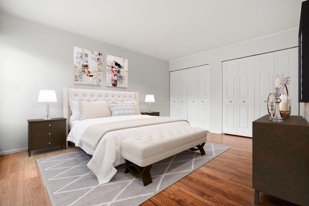 Bedroom at Taunton Gardens in Taunton, Massachusetts